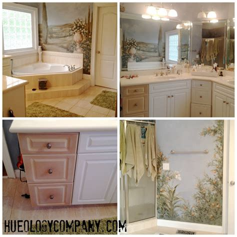 best type of paint for bathroom cabinets painting bathroom cabinets master bath makeover