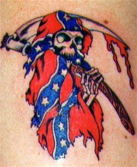 redneck tattoo ideas tattoos 37 awesome confederate flag tattoos