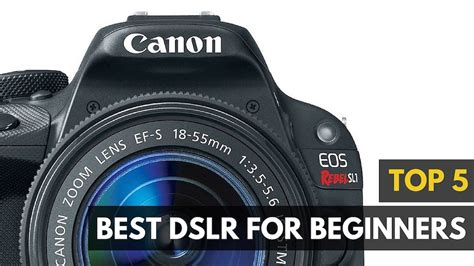 dslr for beginner best dslr for beginners