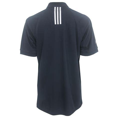 Polo 3strip Adidas adidas s 3 stripe climalite solid polo shirt brand