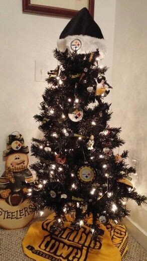images of a steelers christmas tree steelers tree pittsburgh steelers penguins tree pittsburgh