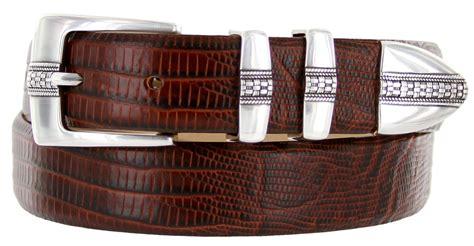 brandon s italian leather designer dress belt 1 1 8