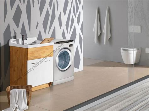 Luxury Modern Home Laundry Room Utility Sink Cabinet