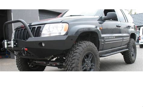 Steel Bumpers For Jeep Grand Jeep Grand Wj 99 04 Front Steel Bumper Winch