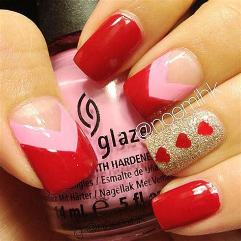 valentines day nails 50 s day nail designs ideas trends 2016