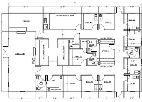home office layout exles medical office layout sle floor plans and photo