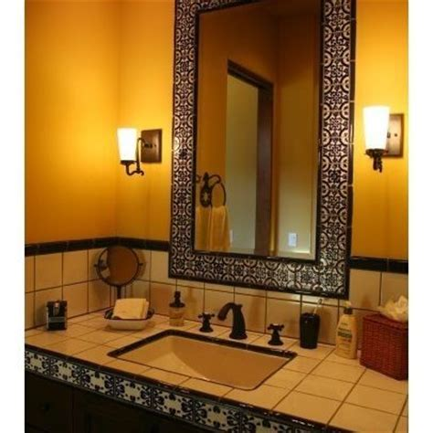 spanish tile bathroom ideas pin by ann benefiel on spanish style decor pinterest