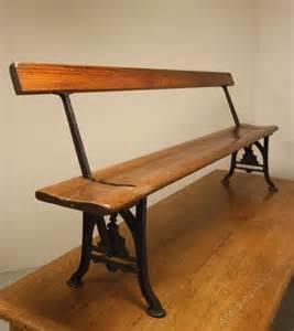 antique cast iron bench antique cast iron pine bench antiques atlas