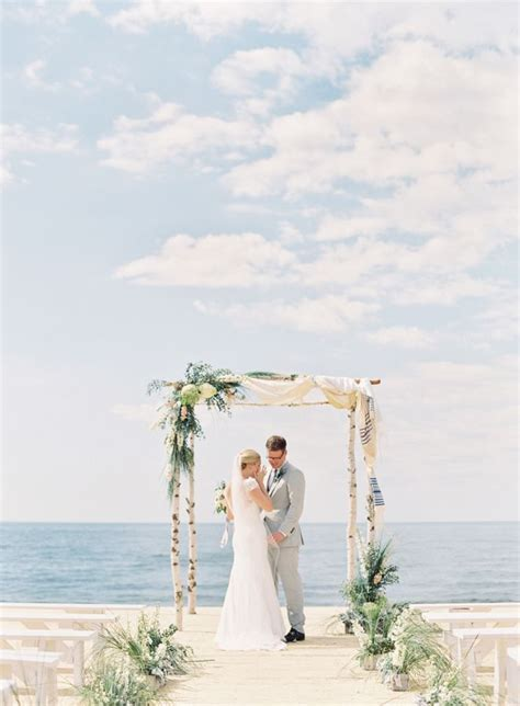 Unplugged Nautical Lake Michigan Wedding in 2019   Wedding