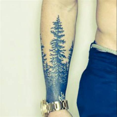 tree tattoos forearm 20 forest tattoos on sleeve