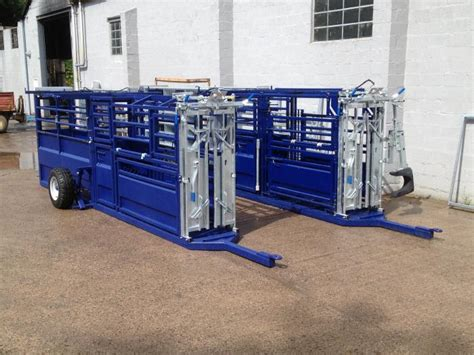 crush mobile mobile cattle handling crush gsf livestock systems
