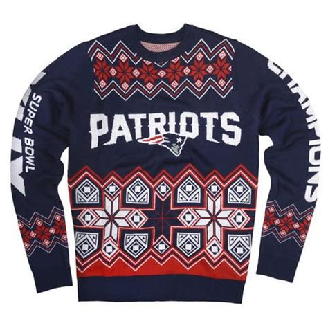 Dodger Sweater Giveaway - new england patriots sb 49 chions official nfl knit crew neck sweat sports giveaways