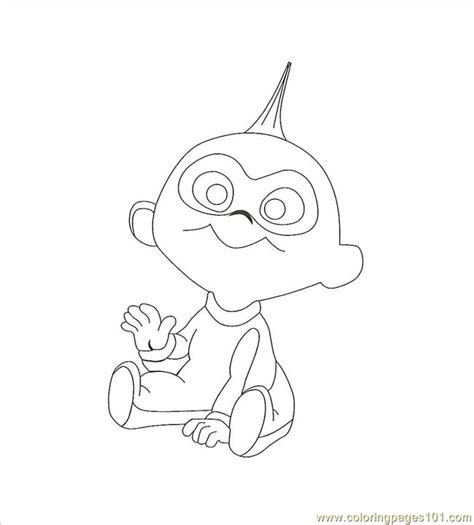 incredibles coloring pages pdf jack jack0001 coloring page free the incredibles