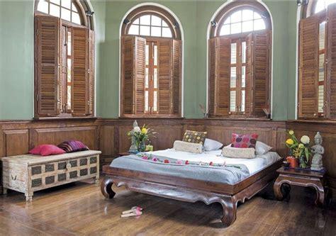 arredamento in stile coloniale da letto in stile coloniale per un riposo d