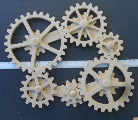 gear wall decor working gears wood gears gear wall kinetic steunk