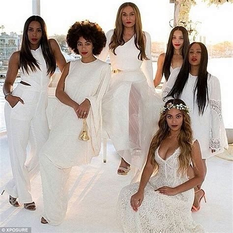 blue dances with z and rowland beyonce shares wedding snaps of blue with