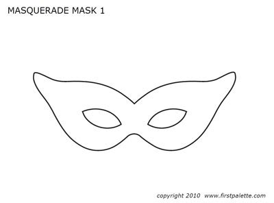 first palette female mardi gras mask template jpg kid