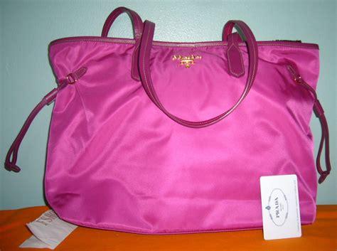 Tas Prada Pr2125 Pink pink prada tote bag prada handbags discounted