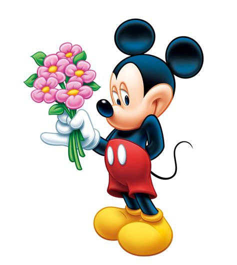Do Disney by Mickey Mouse Pictures Flowers 7520 Wallpaper