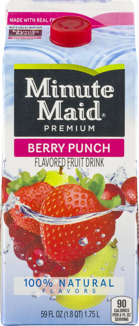 minute light fruit punch nutrition facts minute fruit punch nutrition facts