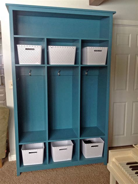 ana white storage locker unit diy projects