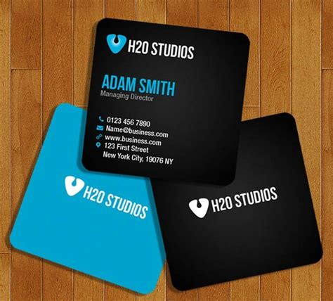 free square business card template psd 100 free business cards psd 187 the best of free business cards