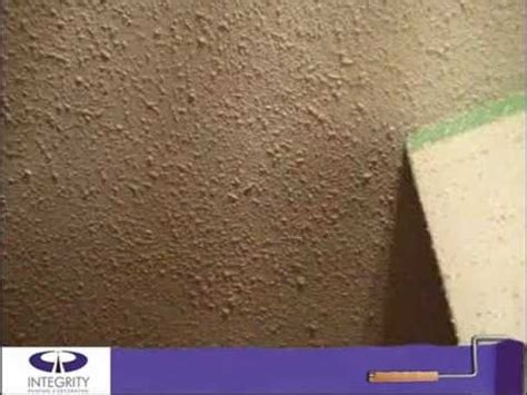 proper stipple ceiling repair by integrity painting youtube