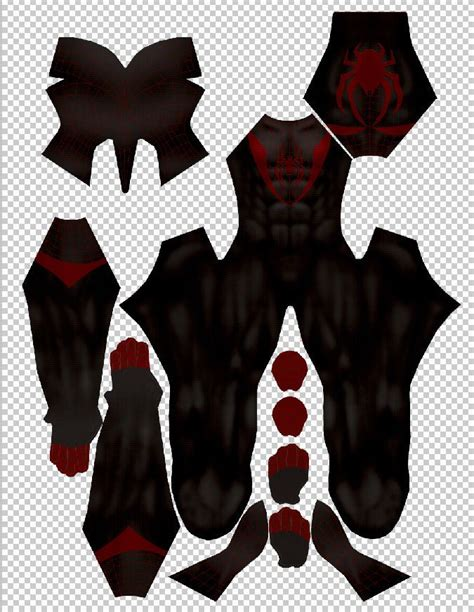 Pdf Spider Morales Costume For by Ultimate Spider Morales Dye Sub Costume Pattern