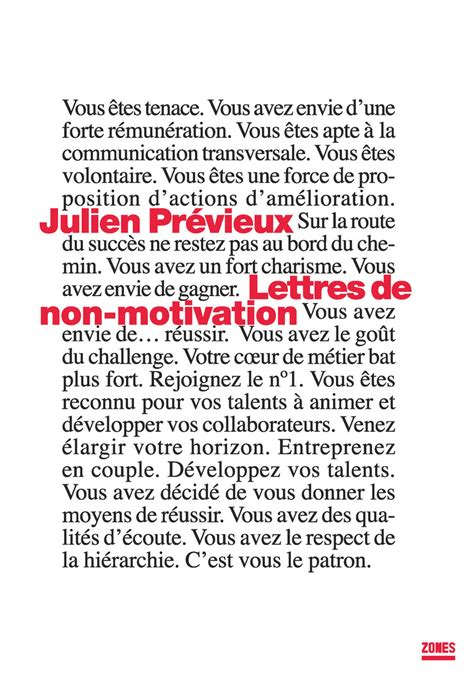 Lettres De Non Motivation Julien Pr 201 Vieux 201 Ditions La D 233 Couverte