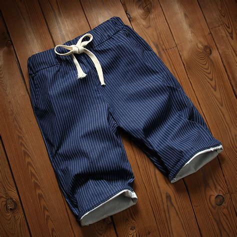 Celana Pendek Selutut aliexpress beli inggris pria angkatan laut gelap celana pendek biru musim panas celana
