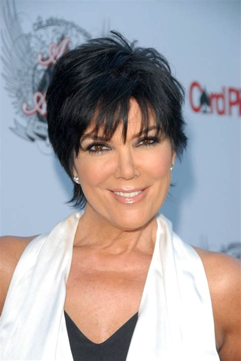 kris jenner haircut back view pin by gemma tb on beauty pinterest