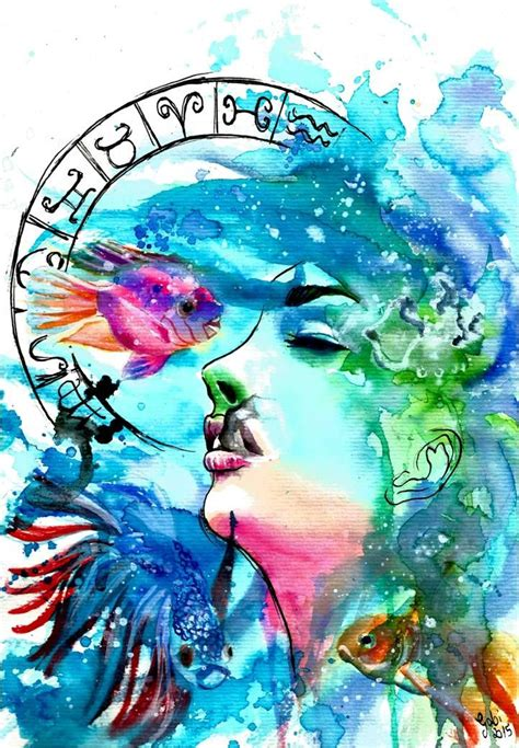 watercolor tattoo zodiac 302 best pisces astrology images on pisces