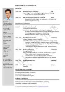 Job Resume Length by Curriculum Vitae Resume Cv