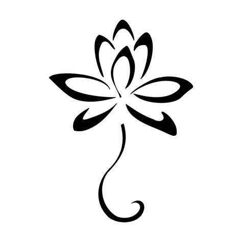 stencil tattoo designs lotus tattoos designs ideas and meaning tattoos for you