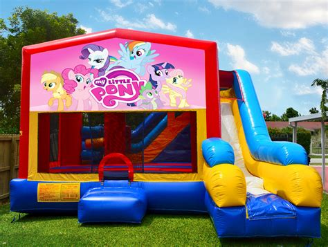 rent my house 7in1 my little pony bounce house bounce house rentals in miami fl mom s party rental