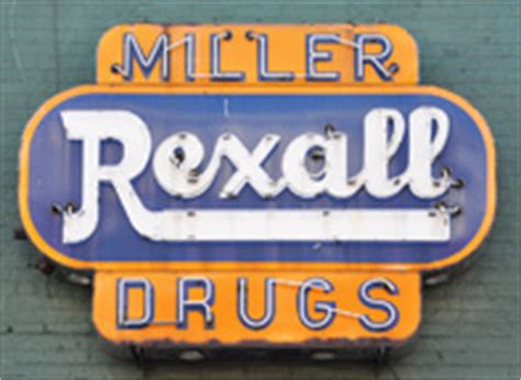 Miller Drugs Are by Rexall Drugs Signs Roadsidearchitecture