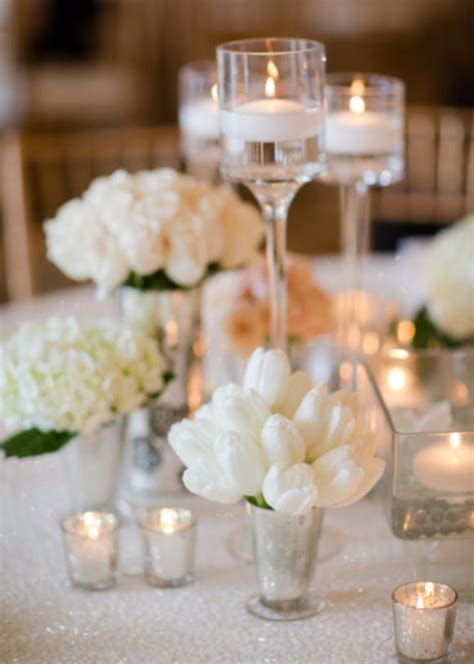 wedding reception table decorations with candles candle decorations archives weddings romantique
