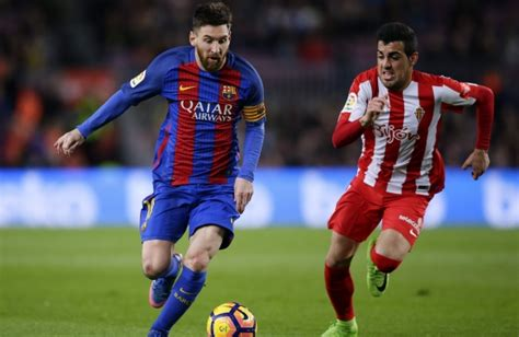 lionel messi biography in tamil barcelona routs sporting 6 1 moves ahead of real madrid