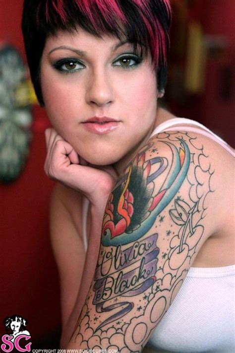 girls with tattoos naked 17 best black images on