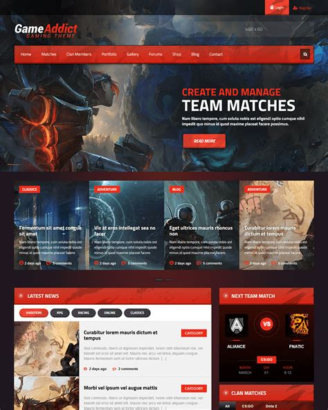 wordpress themes free good 20 best wordpress gaming themes of 2017 goodwpthemes