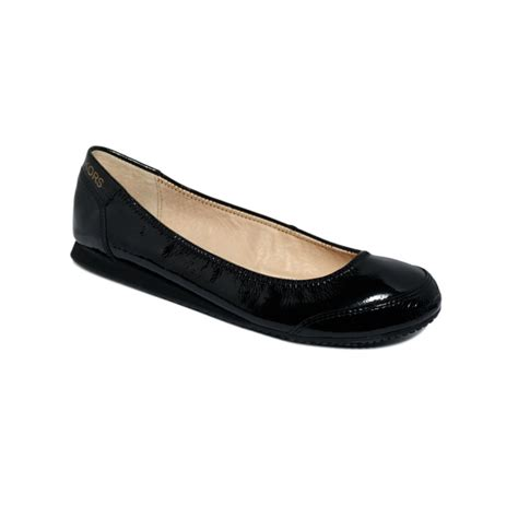 michael kors mk city flats in black lyst