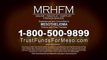 Mesothelioma Settlement Fund 5 by Mrhfm Firm Tv Commercial Mesothelioma 18