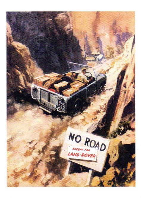 vintage land rover ad land rover defender series 4x4 offroad legend landrover