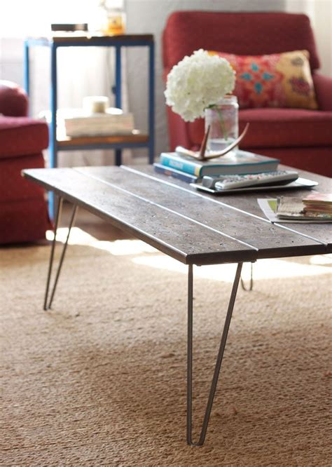 Diy Coffee Table Legs 29 Best Images About Coffee Table Diy On Pinterest Live Edge Table Distress Wood And Metals