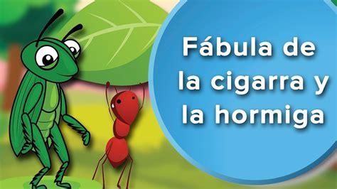 fabula de la ratoncita 9802570745 f 225 bula de la cigarra y la hormiga para ni 241 os f 225 bula con valores youtube