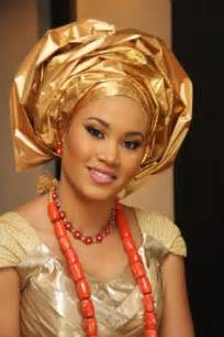 Nigerian wedding real igbo brides in traditional wedding attire