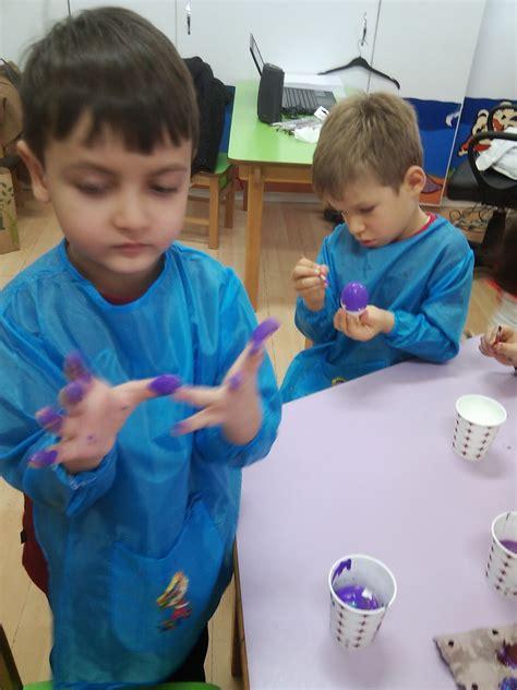 renkli cicekler sinifi yumurta ile genel sorumlulugumuz