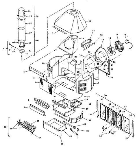preway provider fireplace parts model fb26fablk sears