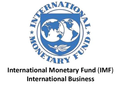 How To Fund An International Mba by International Monetary Fund Imf International Business