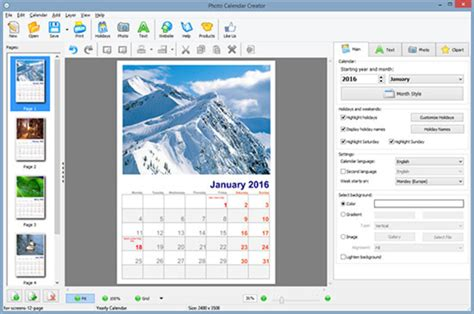 printable calendar generator photo calendar creator download